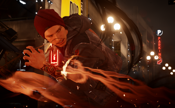 レビュー:inFAMOUS Second Son